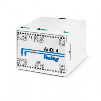 ANDI 4 - Entrada analógicas