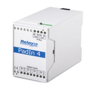 PadIn 4 - Entradas digitales