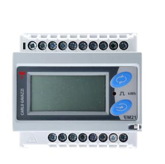 EM2172R analizador trifásico con transformadores mini