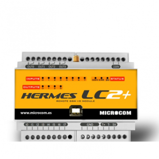 Hermes LC2+ - Telecontrol y datalogger GSM/GPRS